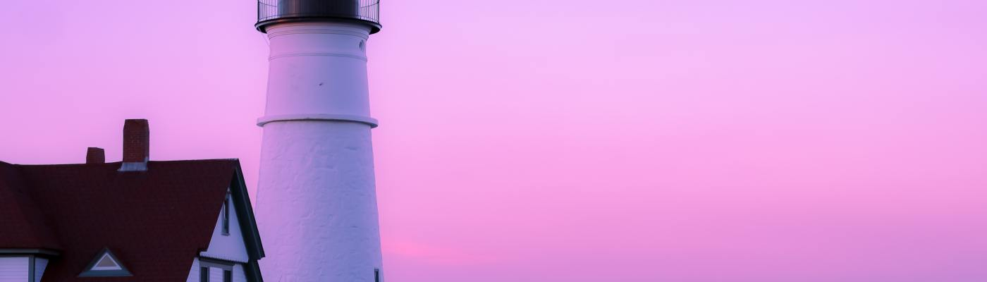 The Lilac Lighthouse